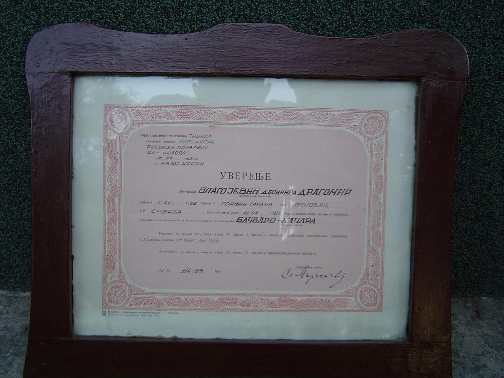 Драгомирова диплома